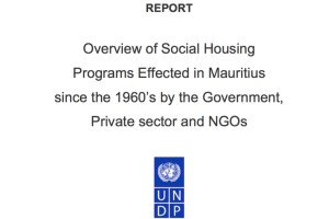 mauritius social housing social movement and 524 draft protocol on the facilitation of movement of persons  matrices on access to social security in mauritius  28 housing.